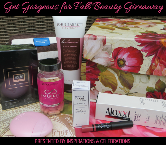 The Get Gorgeous For Fall Beauty Giveaway