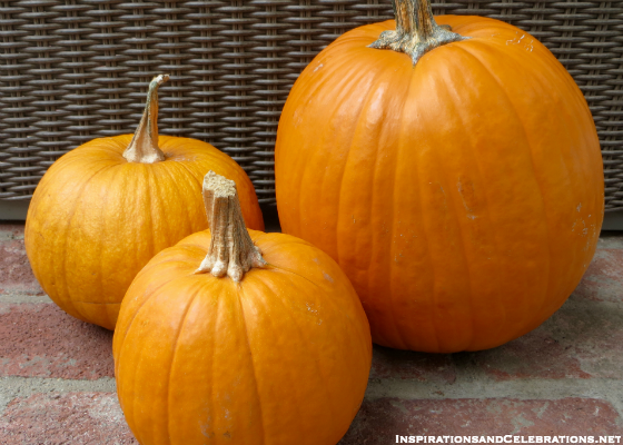 DIY Halloween Decor Tutorial - How To Create Glamorous Pumpkins