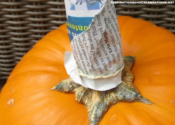 DIY Halloween Decor Tutorial - How To Create Glamorous Pumpkins