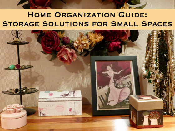 Home organization guide storage solutions for small spaces for Home storage solutions for small spaces