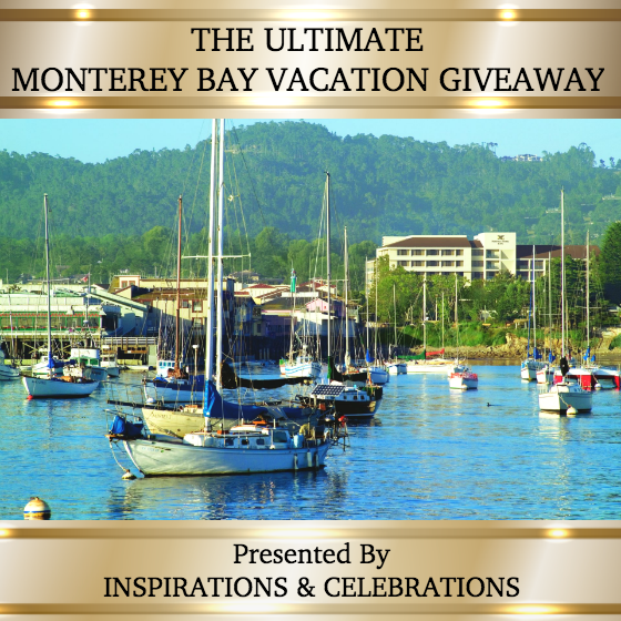 The Ultimate Monterey Bay Vacation Giveaway from Inspirations & Celebrations