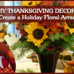DIY Thanksgiving Decor Idea: How To Create a Holiday Floral Arrangement