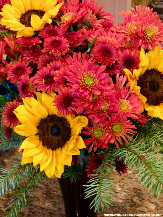 DIY Thanksgiving Decor: How To Create a Holiday Floral Arrangement