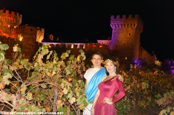 Fall Travel Guide to Napa Valley - Castello di Amorosa Pagan Ball