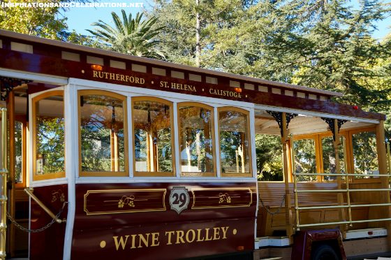 Fall Travel Guide to Napa Valley - Napa Valley Wine Trolley