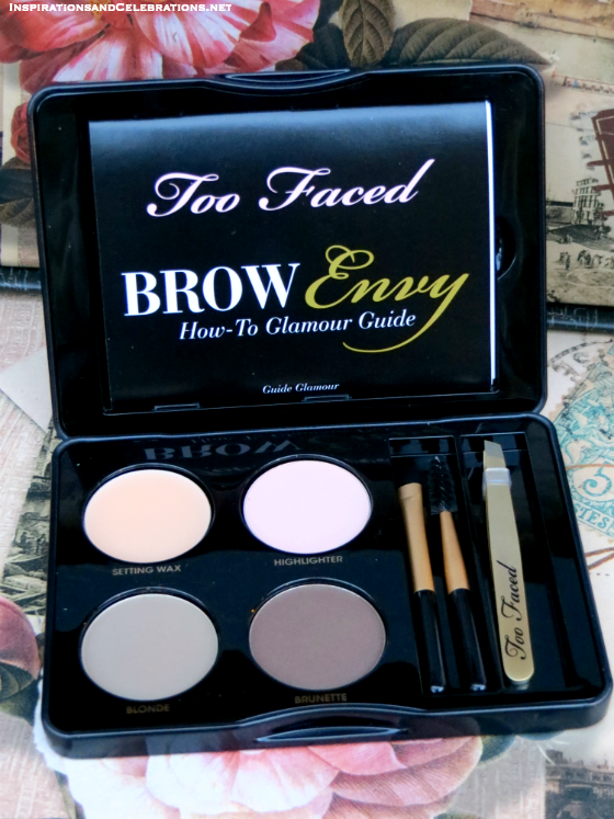 The Haute Holiday Fashion and Makeup Giveaway - Too Faced Brow Envy