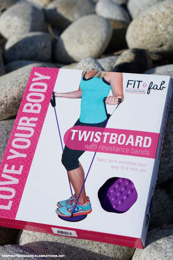 Fit and Fab New Year Giveaway - Win a Fit and Fab Twistboard with Resistance Bands