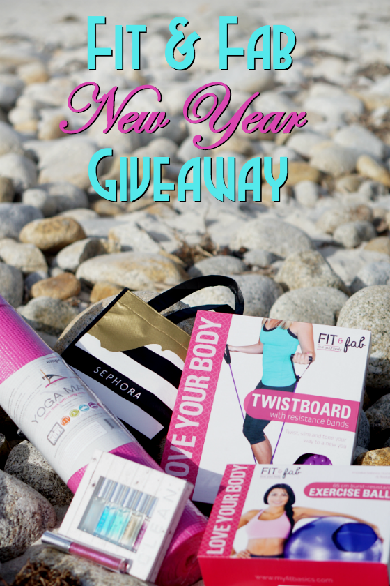 Fit and Fab New Year Giveaway - Win a Fitness Subscription and Deluxe Products