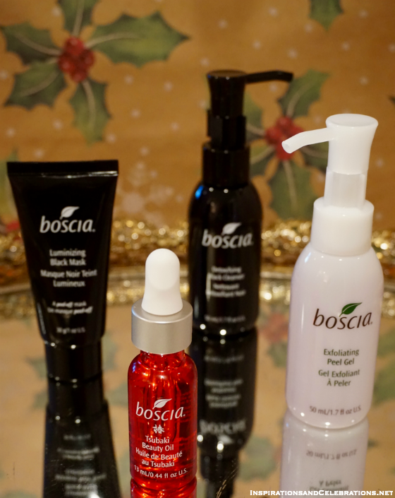 Holiday Gift Guide for Beauty Products - Boscia Japanese Favorites