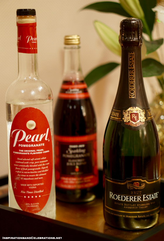 NYE Entertaining Tips - An Easy Cocktail for a Stylish Celebration At-Home