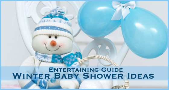 Elegant Entertaining Guide Winter Baby Shower Ideas