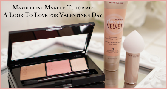 Maybelline Makeup Tutorial - A Look To Love for Valentine's Day