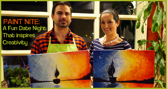 Paint Nite - A Fun Date Night That Inspires Creativity