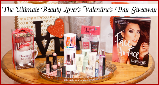 The Ultimate Beauty Lover's Valentine's Day Giveaway by Inspirations and Celebrations