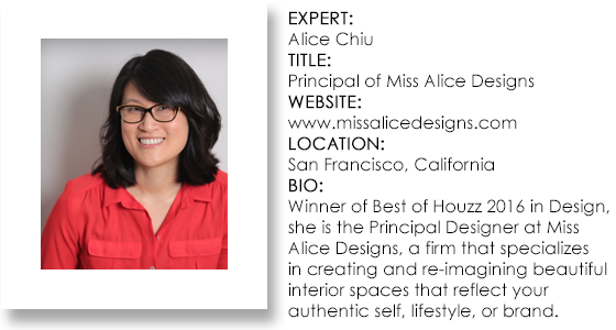 Interior Design Expert - Alice Chiu