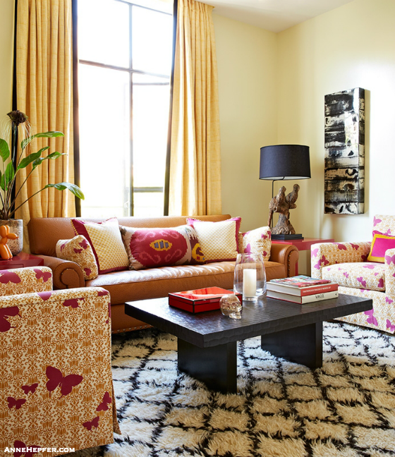 The Interior Designers Guide To Updating Your Home for Spring - Living Room Tips