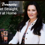 Brilliant Brunette - How To Get Straight, Shiny Hair at Home