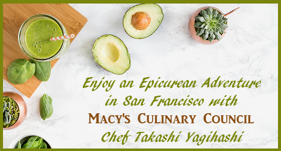 Epicurean Adventure with Macy's Culinary Chef Takashi Yagihashi