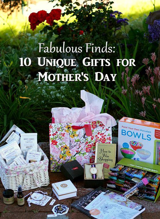 Fabulous Finds - 10 Unique Gifts for Mothers Day