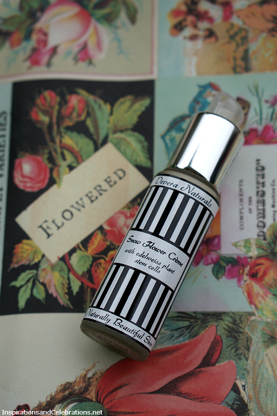 Hello Summer Style and Beauty Giveaway - Devera Naturals Snow Flower Creme