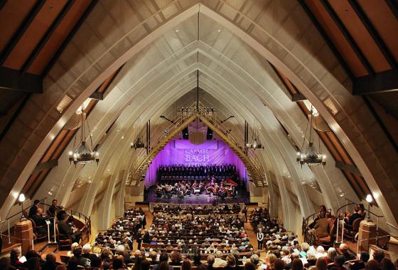 Monterey Peninsula Events - Carmel Bach Festival