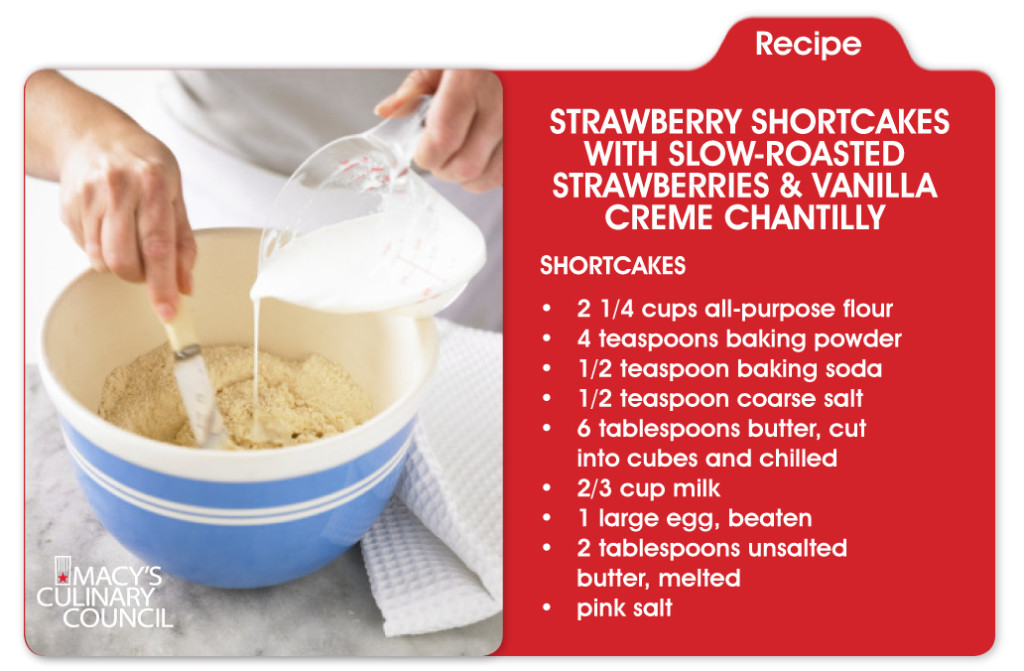 Celebrate National Strawberry Shortcake Day at Macy's #AmericanIcons Cooking Demo