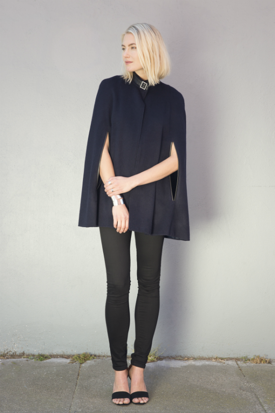 Fashion Designer Spotlight on J'Amy Tarr - Chic Contemporary Outwear for Work-To-Weekend