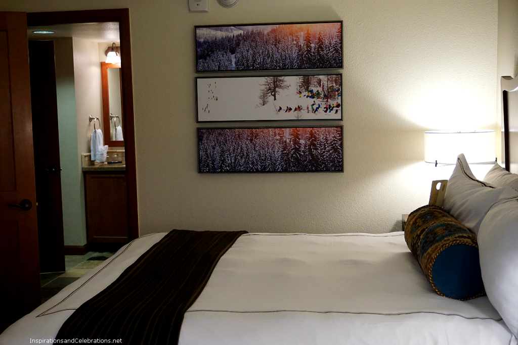 Lake Tahoe Travel Guide - Resort at Squaw Creek Fireplace Suite Bedroom