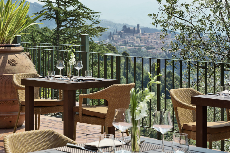 5 Incredible Hotels for Dining Al Fresco - Renaissance Tuscany Il Ciocco Resort and Spa