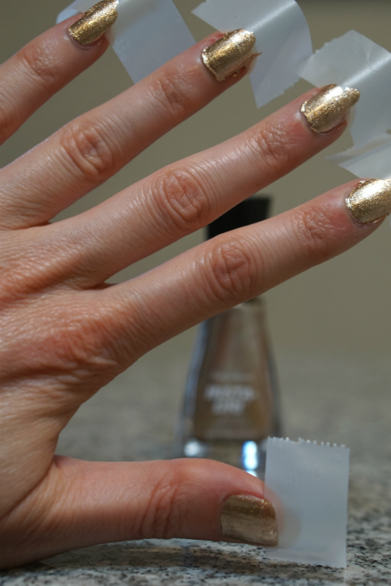 Beauty Tutorial: DIY Modern Glam Gold French Manicure - Inspirations ...