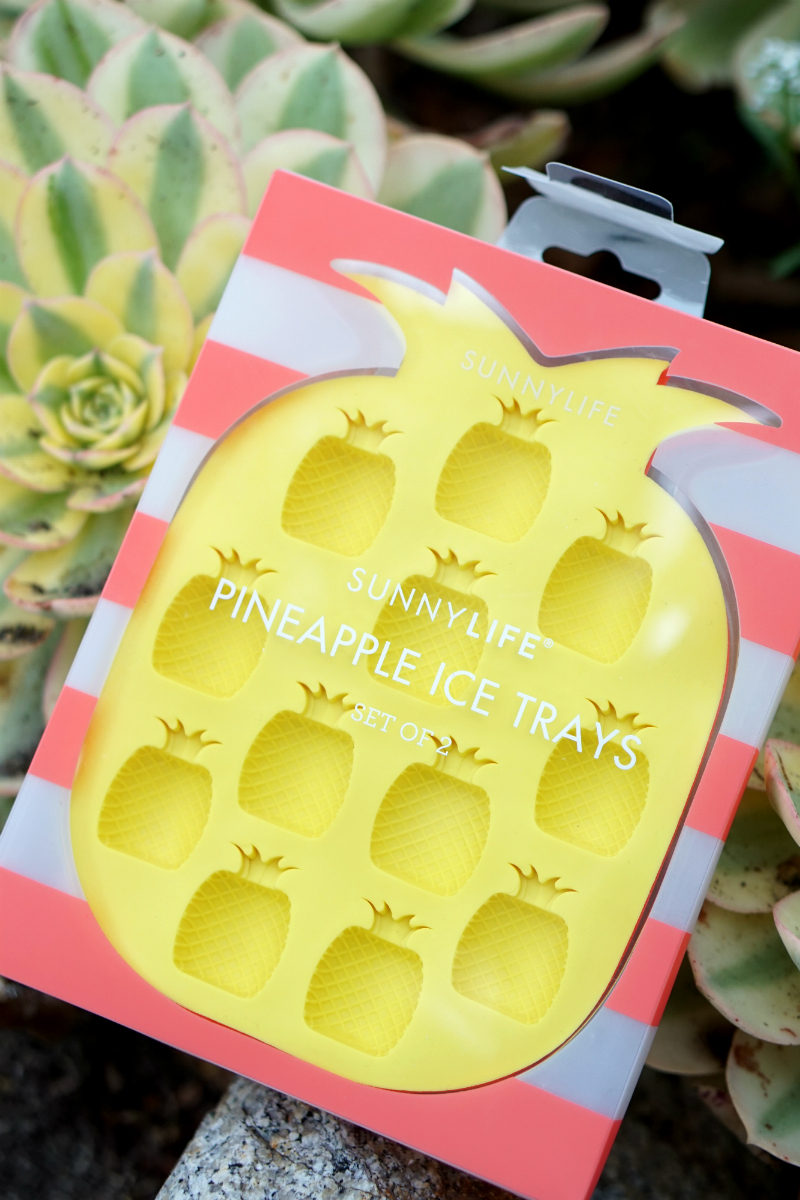 Live What You Love Summer Giveaway - Sunnylife Pineapple Ice Trays