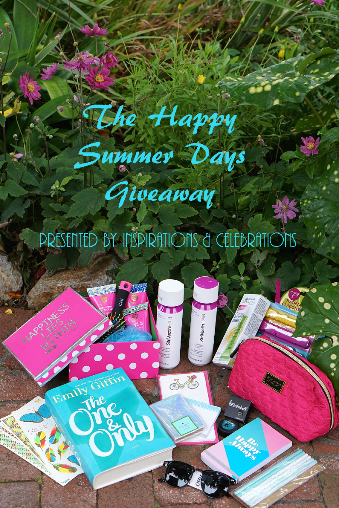 The Happy Summer Days Giveaway from Inspirations and Celebrations