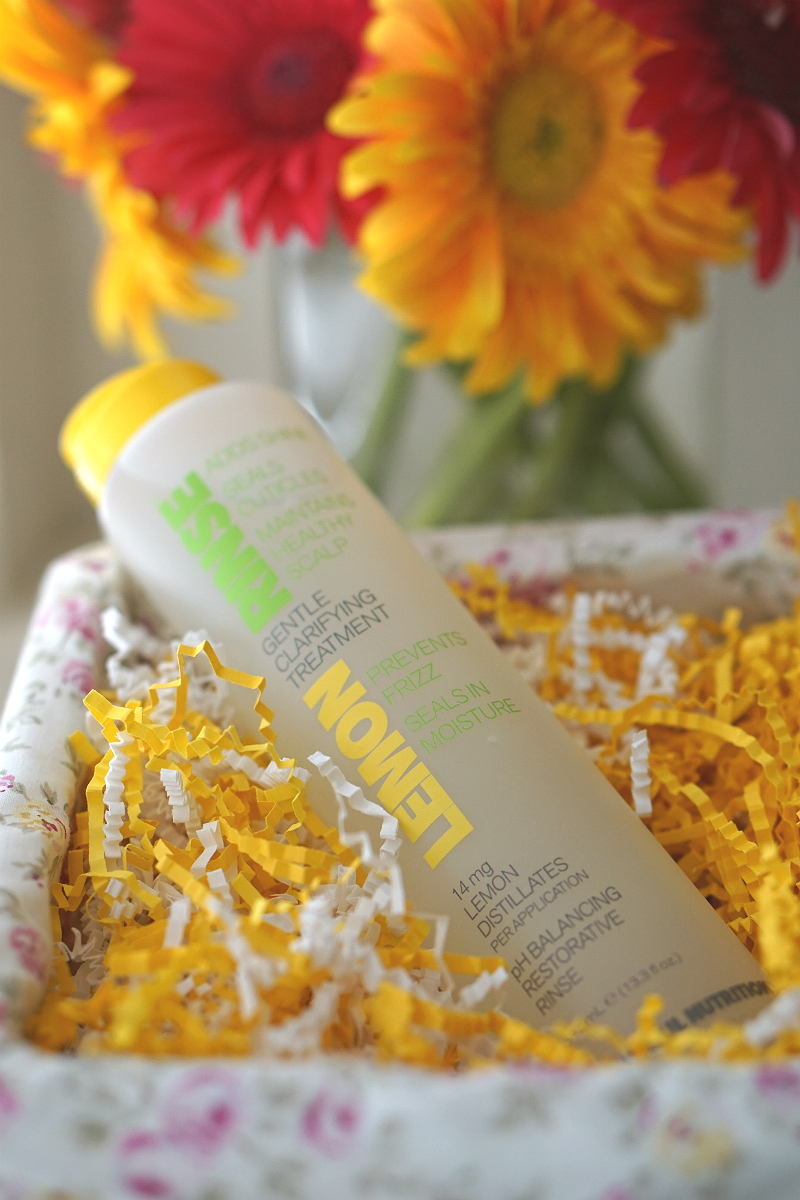 Beautiful Nutrition Lemon Rinse for Hair