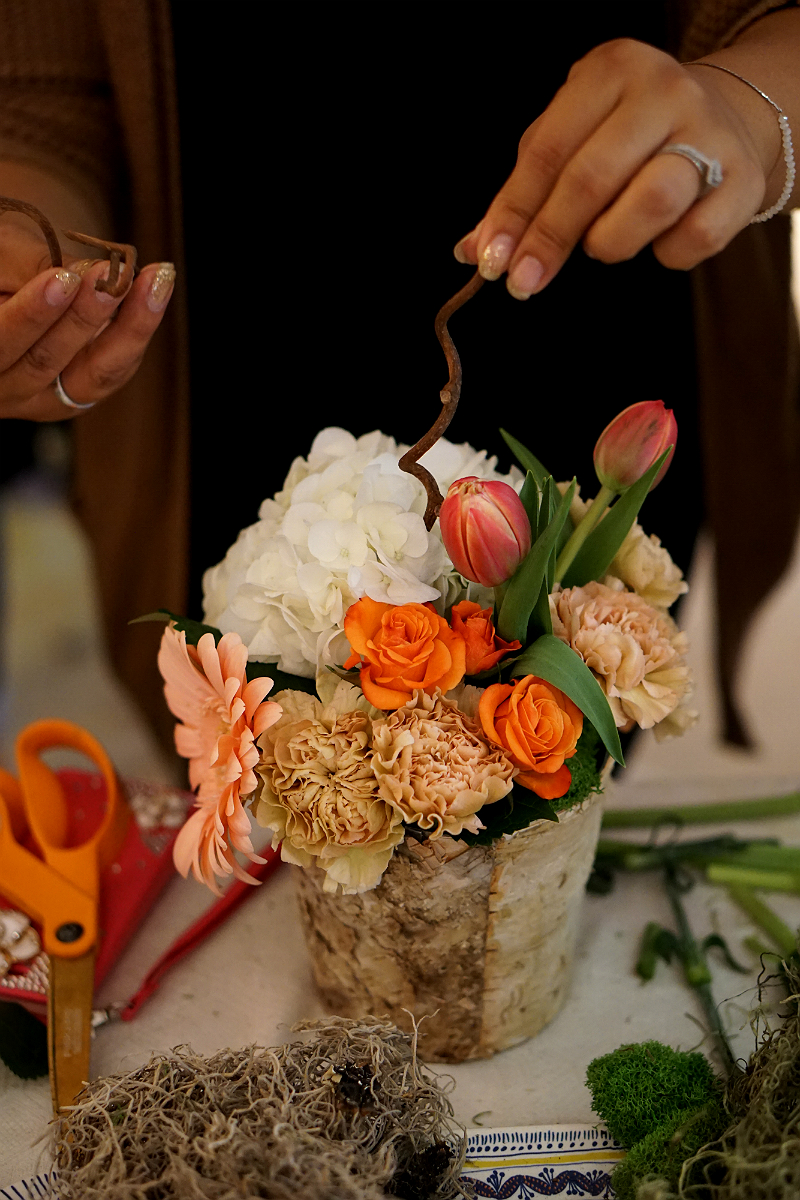 DIY Floral Arranging Workshop and Expert Tips from Quixotic Event Floral Design