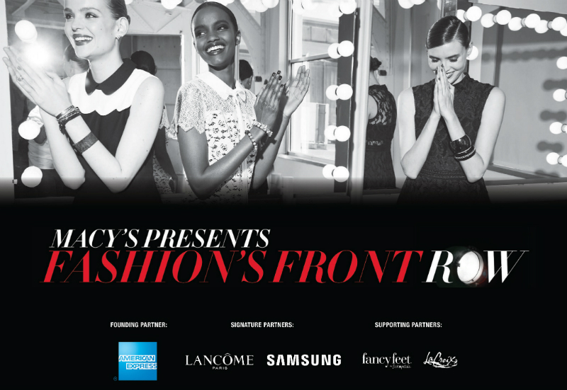 Macy's Fashion Front Row