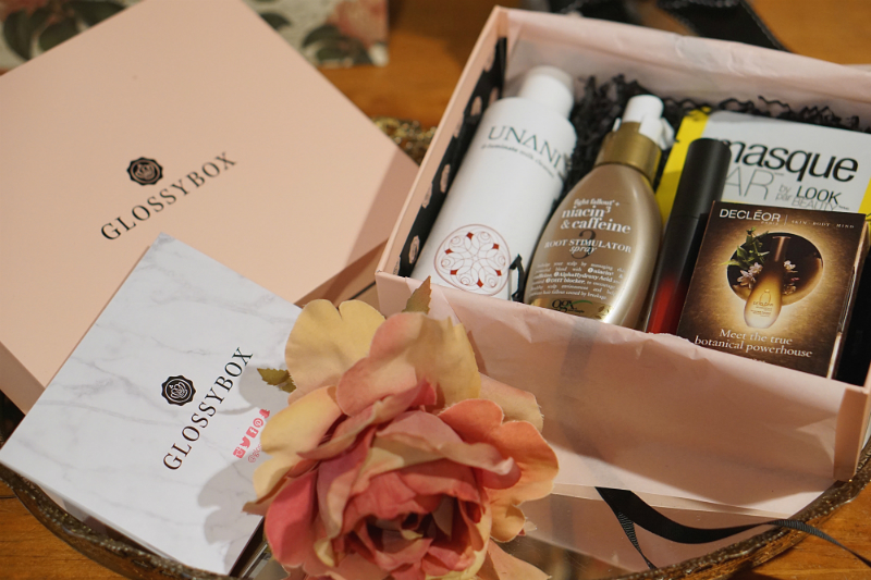 Glossybox October 2016 Spa Edition Subscription Box Unveiling