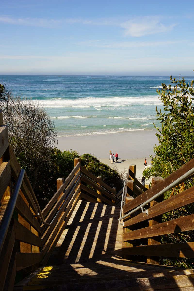 The Deluxe Central Coast Vacation Giveaway - Carmel Beach