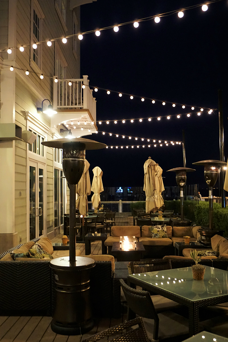 The Deluxe Central Coast Vacation Giveaway - The C Bar Restaurant Patio
