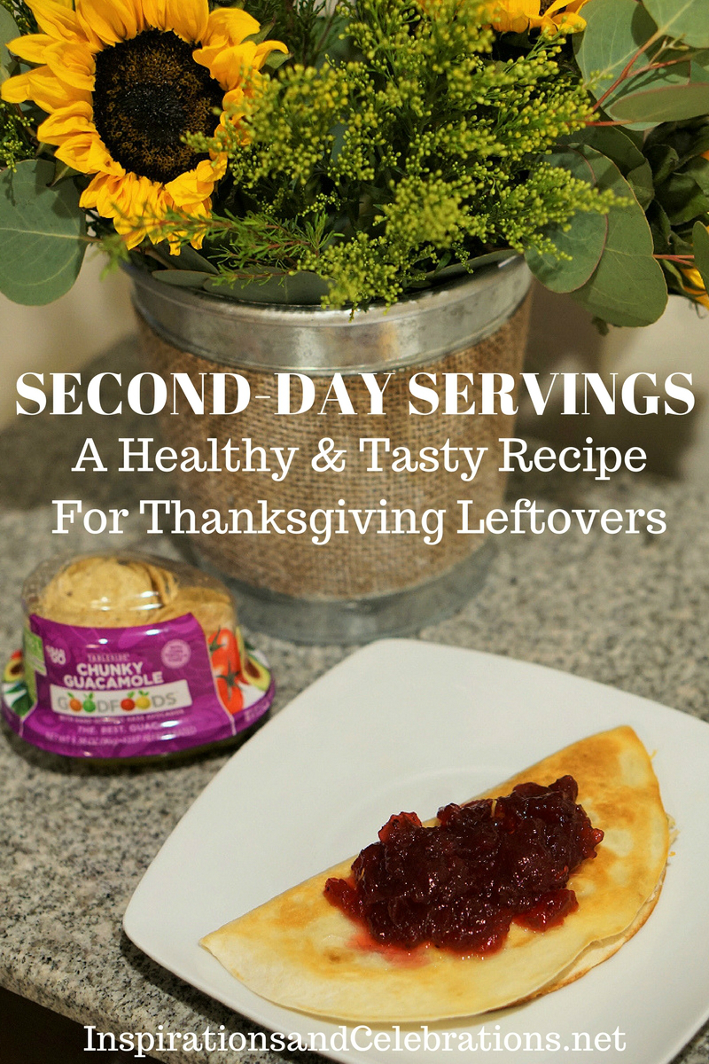 GOODFOODS Second-Day Servings - Healthy and Tasty Recipe for Thanksgiving Leftovers