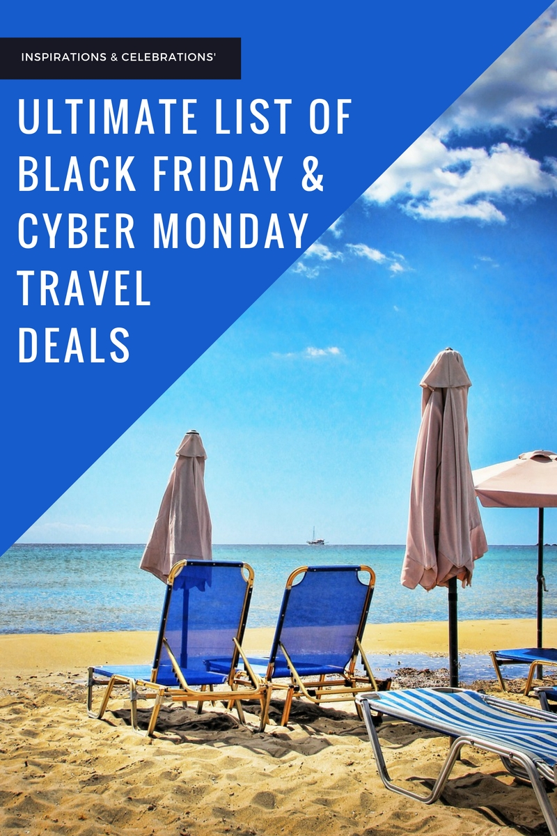 The Ultimate List of Cyber Monday Travel Deals