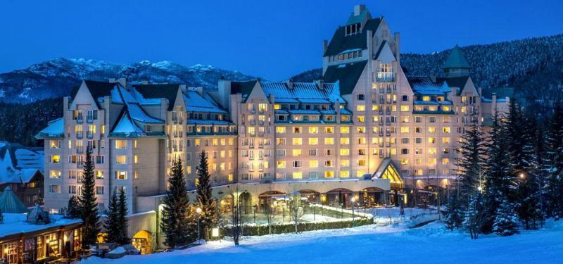 Winter Wonderland Resorts That Brighten Up The Holidays - Fairmont Chateau Whistler