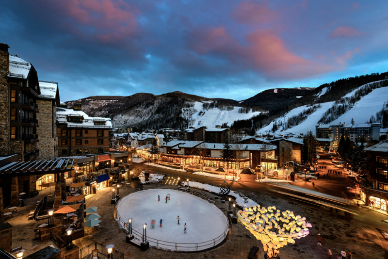 Winter Wonderland Resorts That Brighten Up The Holidays - Four Seasons Resort Vail