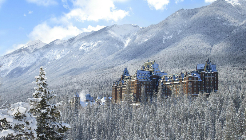 35 Romantic Getaways for Valentine's Day Weekend - The Fairmont Banff Springs Hotel