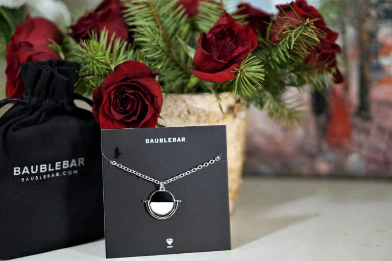 New Year New You GirlBoss Giveaway - BaubleBar Snowfall Pendant