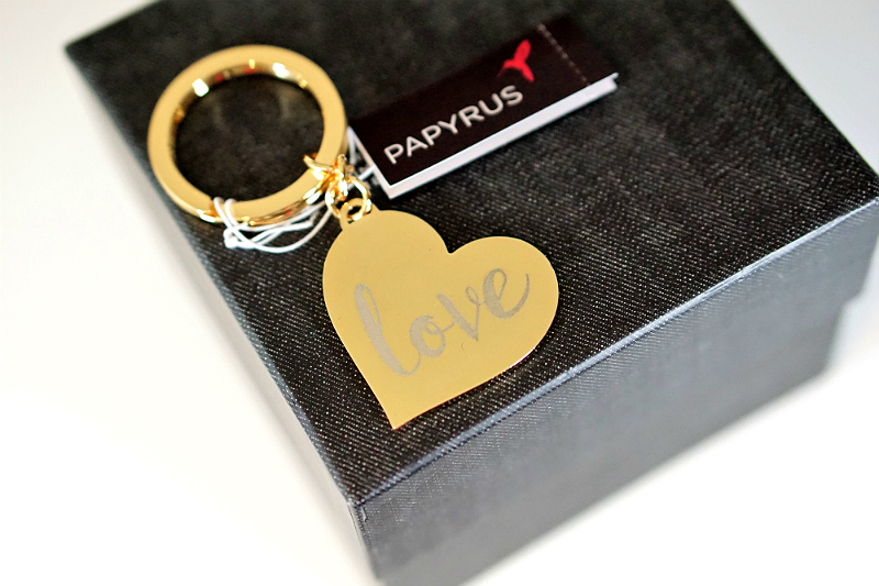 The Things We Love Valentines Giveaway - Papyrus Love Heart Keychain
