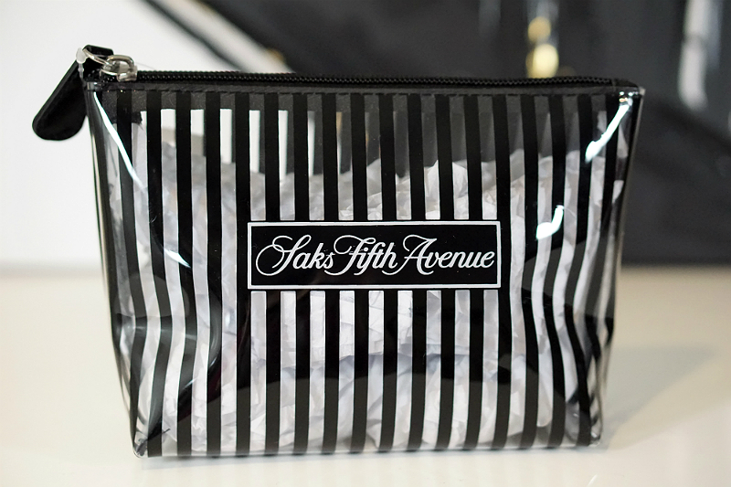 The Things We Love Valentines Giveaway - Saks Fifth Avenue Cosmetic Bag