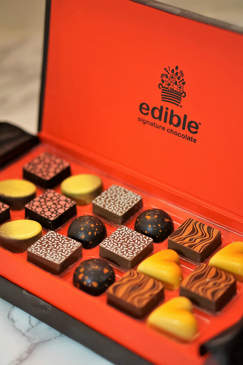 Out of the Box Valentines Day Gifts from Babble Boxx - Edible Signature Chocolate Box