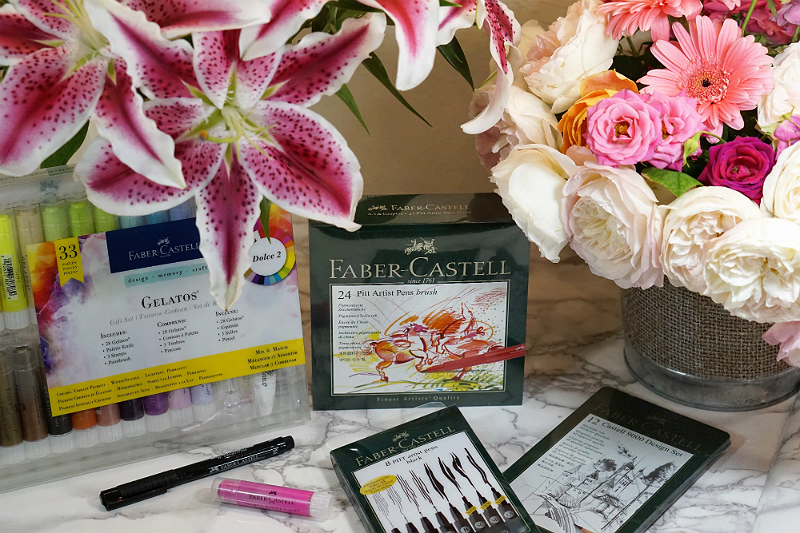 Out of the Box Valentines Day Gifts from Babble Boxx - Faber-Castell Art Supplies