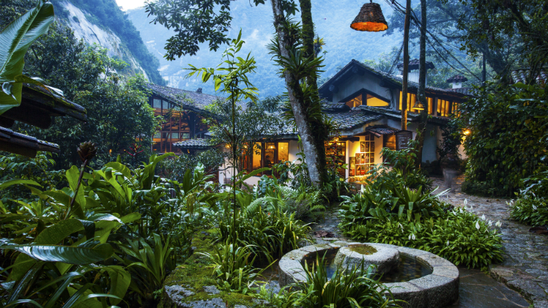 Family-Friendly Spring Break Vacation Ideas at Top Hotels - Inkaterra Machu Picchu Pueblo Hotel