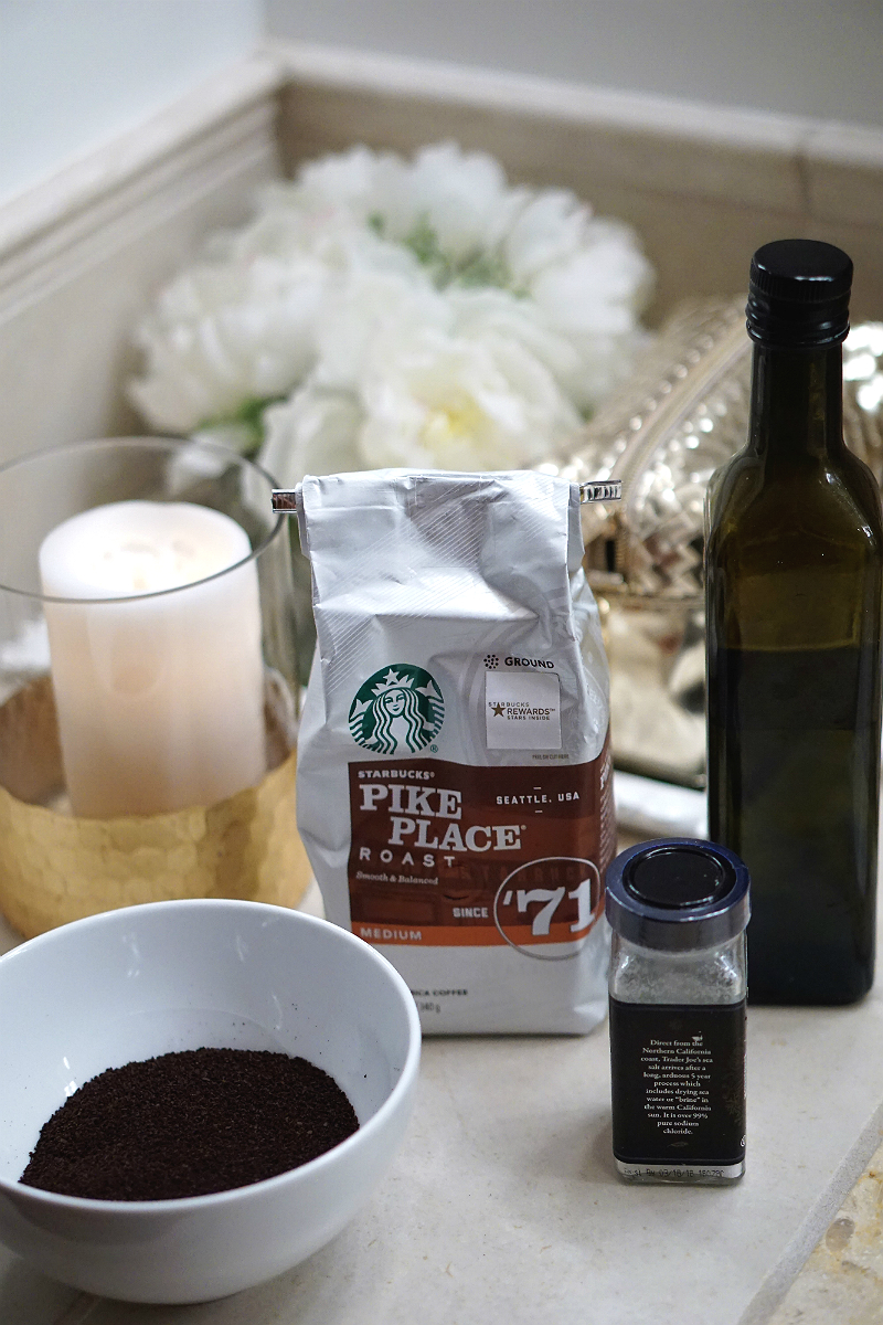 DIY Coffee Scrub Tutorial - An Eco-Friendly Way To Pamper Yourself and Help The Earth